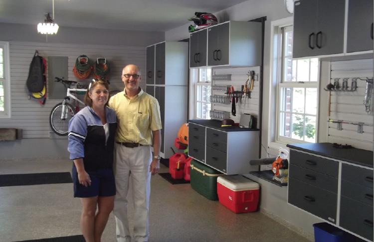Chambersburg PA Garage Storage Makeover
