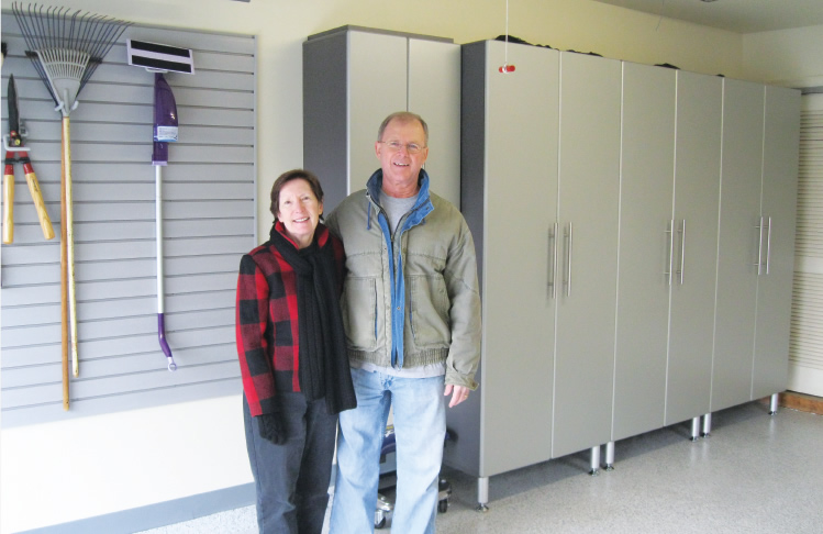 Hershey PA Hummelstown PA Garage Storage PRO Series Complete Installation