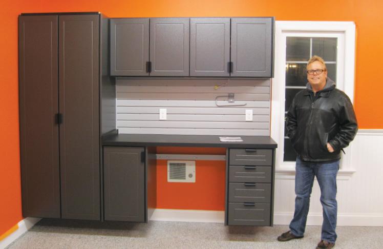 Lancaster PA Garage Storage Cabinets - Redline