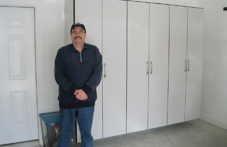 Mechanicsburg PA Garage Storage Cabinet Installation