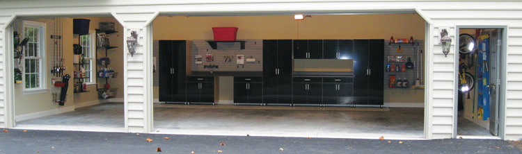 York PA Award Winning Garage Organization System